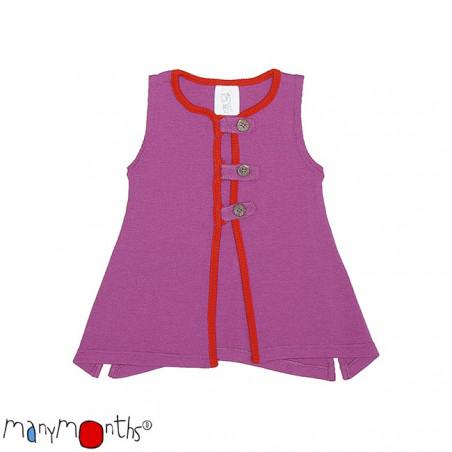 ManyMonths Wool Aquila Vest Violet Lotus