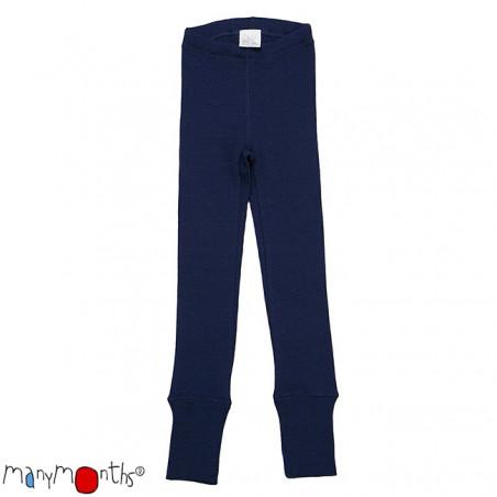 ManyMonths Wool Leggings Moonlight Blue