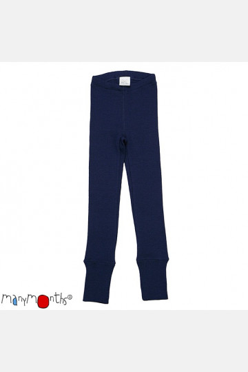 ManyMonths Wool Leggings Moonlight Blue