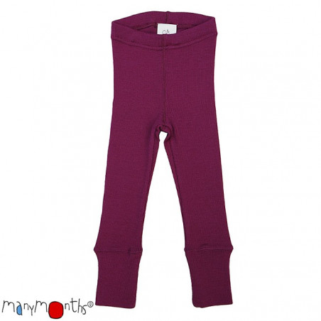 ManyMonths Wool Leggings Violet Lotus