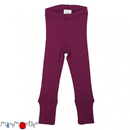ManyMonths Wool Leggings Violet Lotus