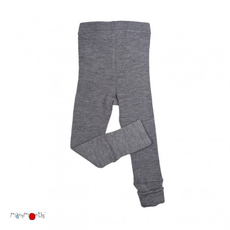 ManyMonths Wool Leggings Silver Grey