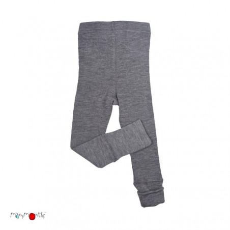 ManyMonths Wool Leggings Silver Grey