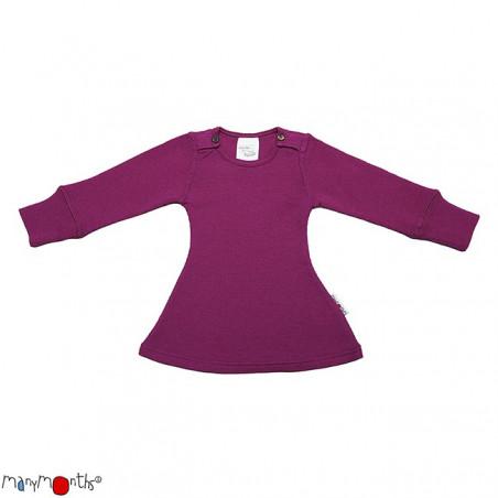 ManyMonths Wool Long Sleeve Dress Violet Lotus