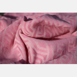 Yaro Braid Old-Rose Natural Hemp