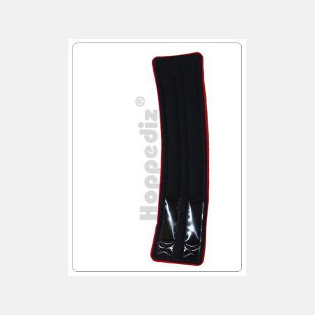 Verlengstuk Bondolino heupband Zwart-Rood