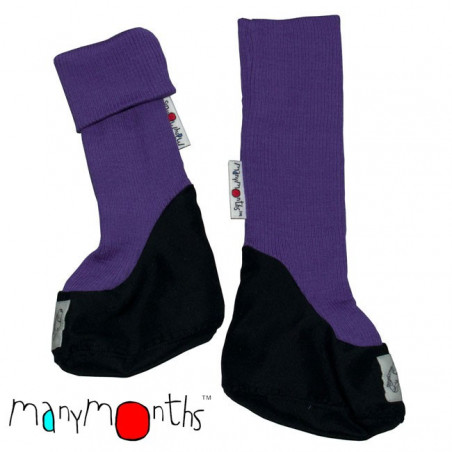 ManyMonths Wool Bootie Purple Peace