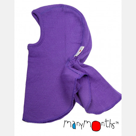 ManyMonths Elephant Hood Purple Peace