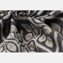 Yaro La Vita Black Beige Wool Bourette