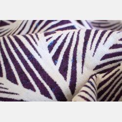 Yaro Magnetic Contra Indigo White Wool Tussah
