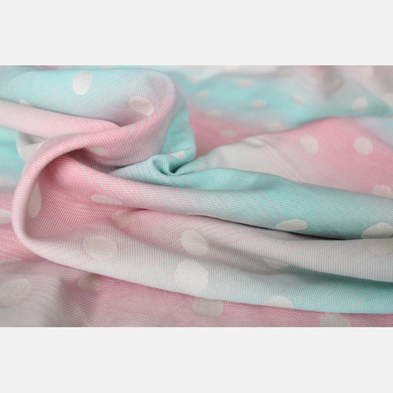 Yaro Dots Pastel Rainbow Ring Sling