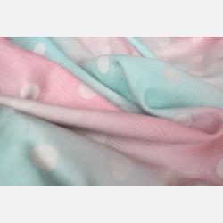 Yaro Dots Pastel Rainbow Ring Sling