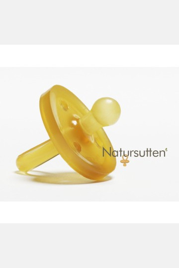 Natursutten Soother Round - Cherry
