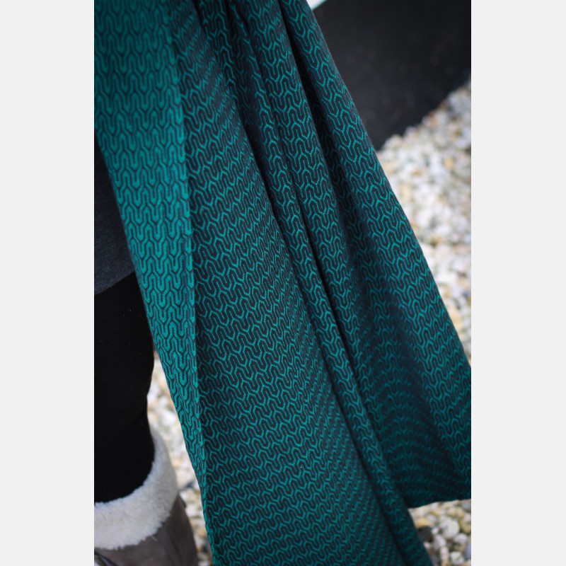 Yaro Turtle Emerald-Black