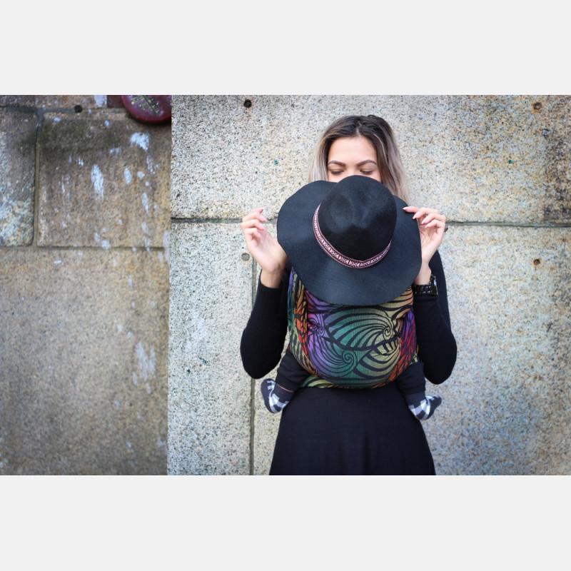 Yaro Dandy Black Autumn Rainbow Ring Sling