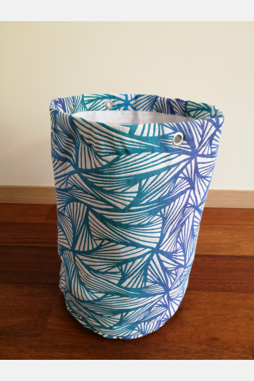 Yaro Storage Bin Large - Magnetic Contra Aqua Rainbow