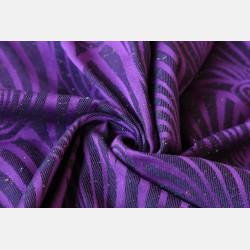 Yaro Dandy Purple Black Tencel Confetti Ring Sling