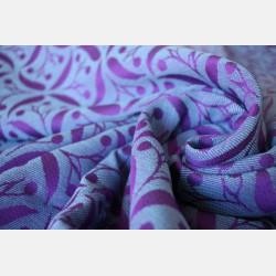 Yaro Retro Berry Purple Mint Tencel Ring Sling