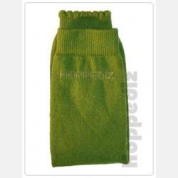 Hoppediz Baby Leg Warmers Wool/Cashmere Kiwi