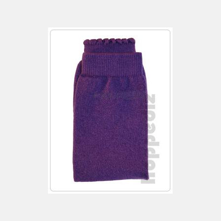 Hoppediz Baby Leg Warmers Wool/Cashmere Lila