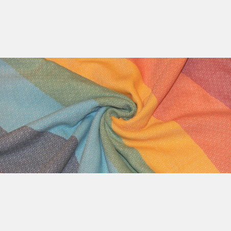 Girasol Light Rainbow Diamond Ring Sling