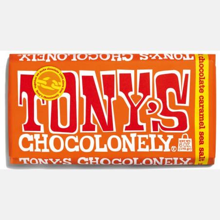 Tony's Chocolonely - Melk Karamel Zeezout