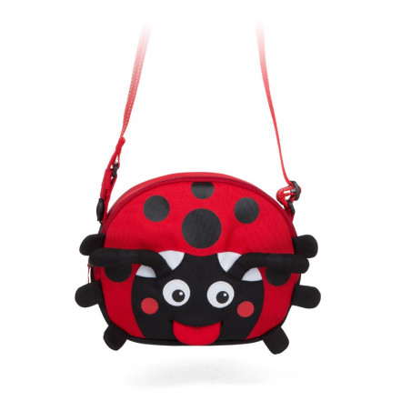 Affenzahn Eco Shoulder Bag - Lilly the Ladybug