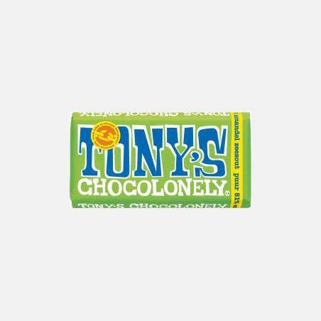Tony's Chocolonely - Puur Amandel Zeezout