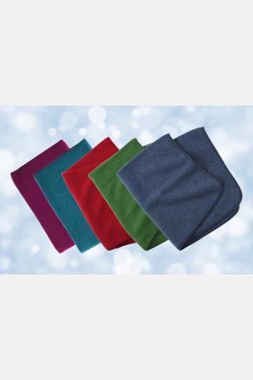Engel Baby Blanket - Blue Melange