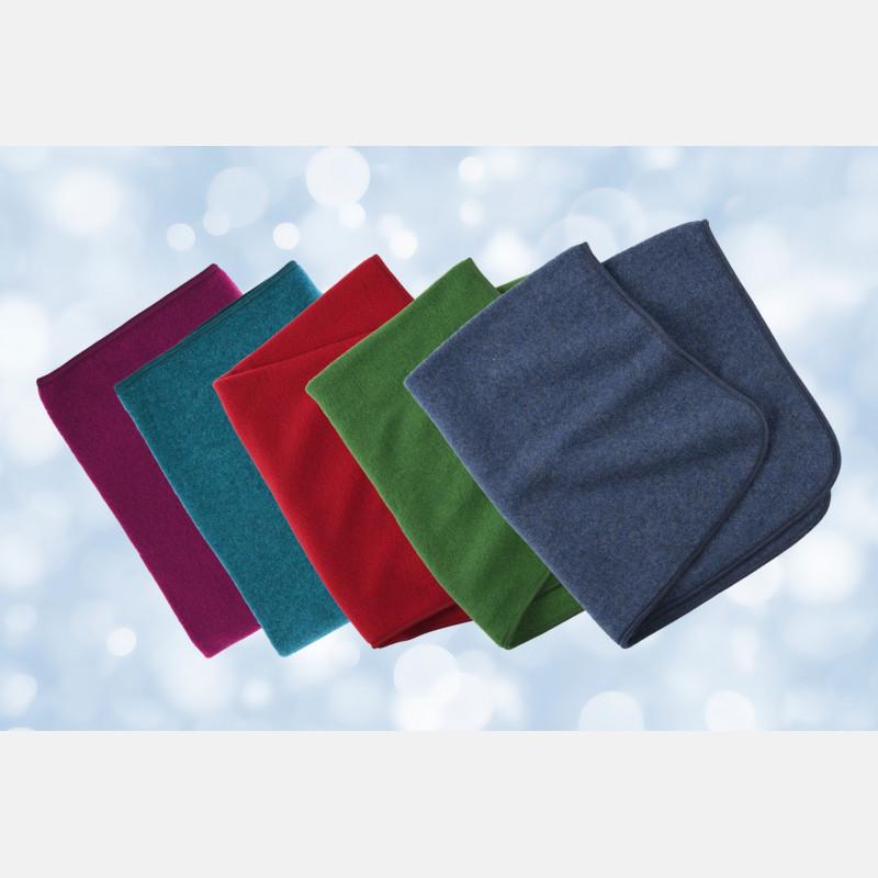 Engel Baby Blanket - Teal Melange