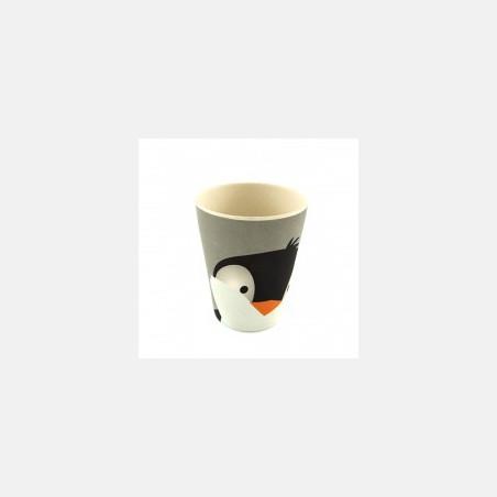 Yuunaa Bamboe Beker - Pinguin