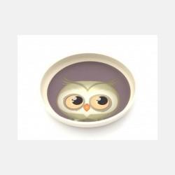 Yuunaa Bamboo Plate - Owl