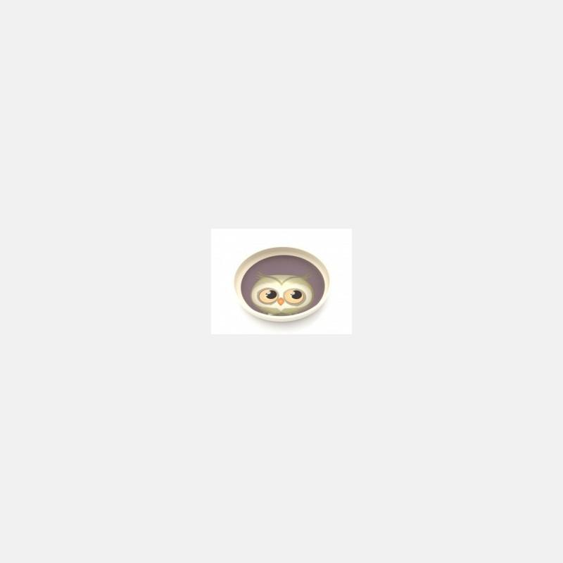 Yuunaa Bamboo Plate - Hedgehog