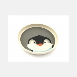 Yuunaa Bamboe Bord - Pinguin