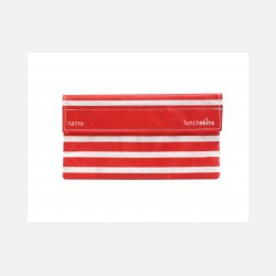 LunchSkins Velcro SnackBag - Navy Stripe