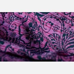 Yaro Ava Contra Black Pink Random Wool Ring Sling