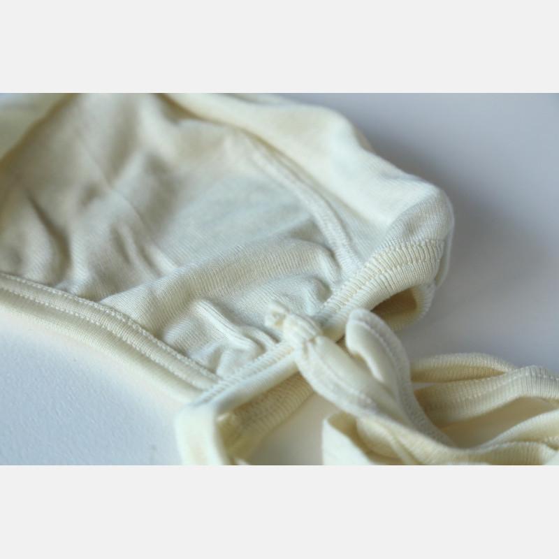 Engel Baby Bonnet - Natural