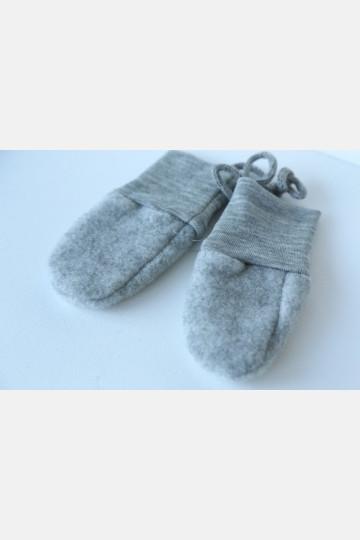 Engel Baby Mittens - Grey Melange