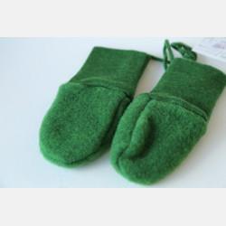 Engel Baby Mittens - Green Melange