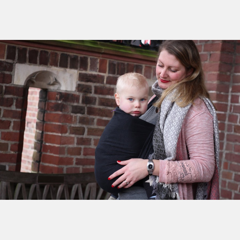 Yaro Turtle Black Ring Sling