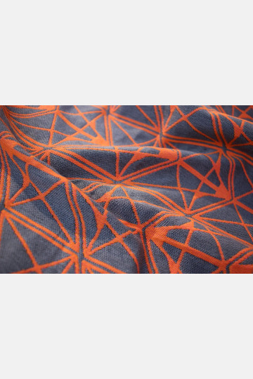 Yaro Foxes Contra Grey Orange Ring Sling