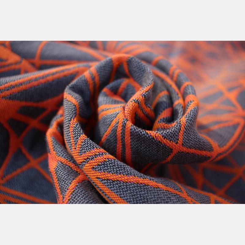 Yaro Foxes Contra Grey Orange Ring Sling