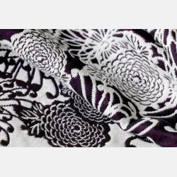 Yaro Chrys Puffy Purple White Tencel