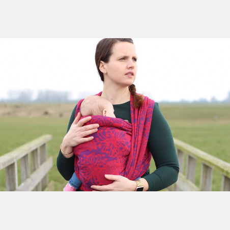 Yaro Chrys Contra Purple Red Modal Ring Sling