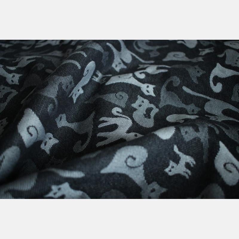 Yaro Cats Black White Wool Organic