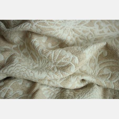 Yaro Chrys Puffy Beige Wool Glam Ring Sling