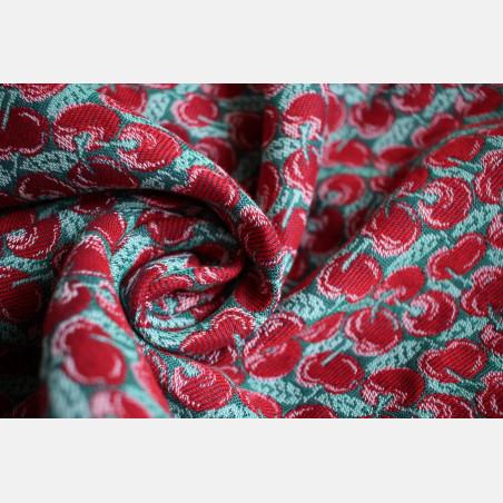 Yaro Cherries Ultra Red Green Ring Sling