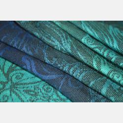 Yaro Elvish Aqua Grad Black Linen