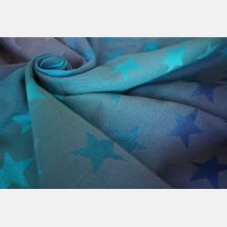 Yaro Stars Aqua Grad Grey Ring Sling
