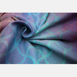 Yaro Gravity Duo Aqua Grad Orange Violet Tencel